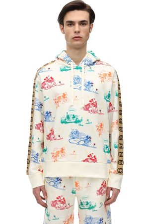 Gucci Mickey Heavy Cotton Jersey Hoodie