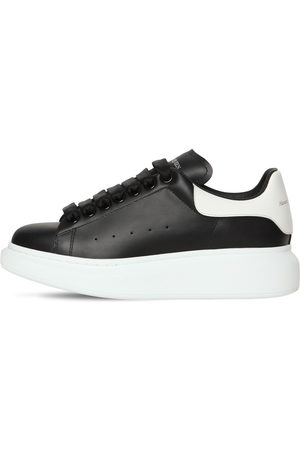Alexander McQueen 45mm Bicolor Leather Sneakers