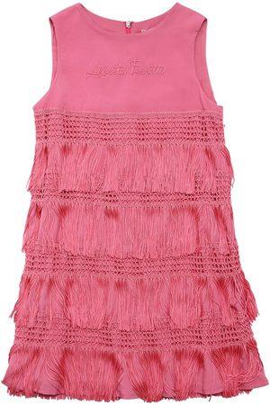 Alberta Ferretti Fringes Party Dress