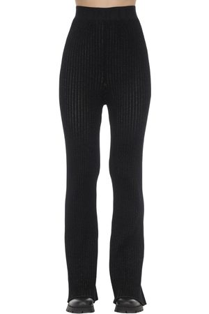 Moncler Genius 1952 Flared Viscose Blend Tricot Pants