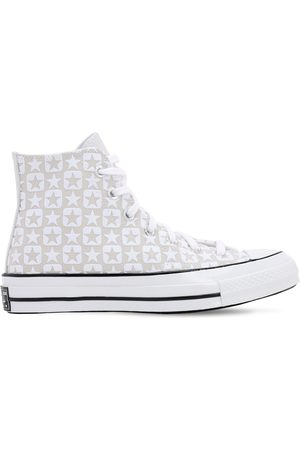 Converse Chuck 70 Flocked Canvas- Hi Sneakers