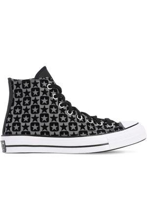 Converse Chuck 70 Flocked Canvas - Hi Sneakers