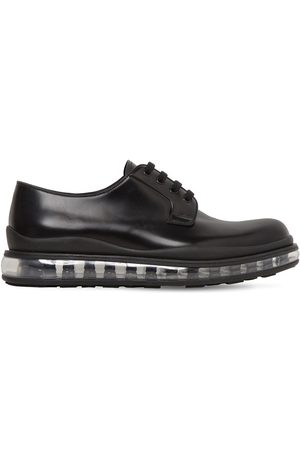 Prada Levitate Brushed Leather Derby Shoes