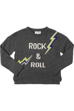 Zadig & Voltaire Arrow Intarsia Wool Blend Knit Sweater