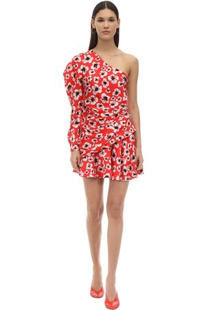 Borgo De Nor Kvinder Festkjoler - Christina Floral Print Silk Mini Dress