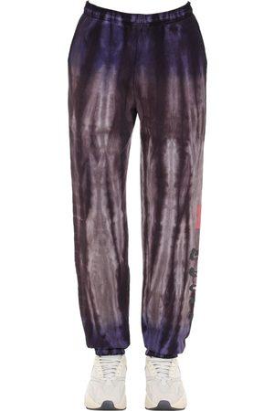 INSOMNIAC Tie Dyed Cotton Sweatpants