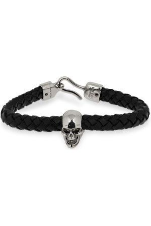 Alexander McQueen Mænd Armbånd - Skull Leather Bracelet