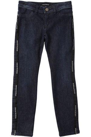 Emporio Armani Stretch Cotton Blend Jeans