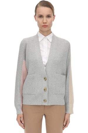 Sportmax Viscose Blend Knit Cardigan