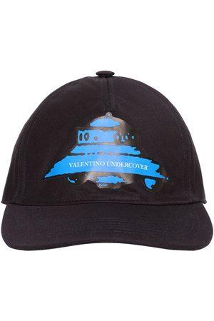 VALENTINO GARAVANI Vu Ufo Printed Cotton Baseball Hat