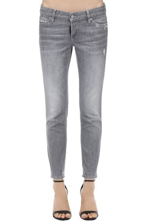 Dsquared2 Jennifer Cropped Cotton Denim Jeans