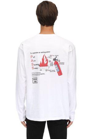 AN AN ANN Pass Washed Longsleeve Cotton T-shirt