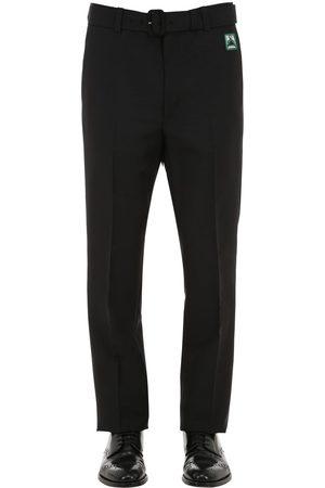 Prada Mænd Bukser - 21cm Mohair Blend Pants