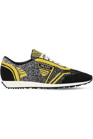 Prada Knit Running Sneakers