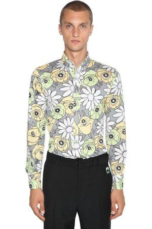 Prada Floral Printed Cotton Shirt