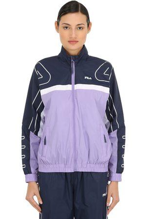 Fila Carol Logo Nylon Track Jacket