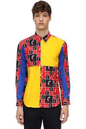 Comme des Garçons Patchwork Cotton Shirt