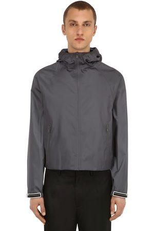 Prada Hooded Nylon Gabardine Jacket