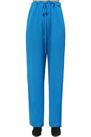 Haider Ackermann Silk Crepe Pants