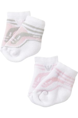 Emporio Armani 2 Pairs Of Cotton Knit Socks