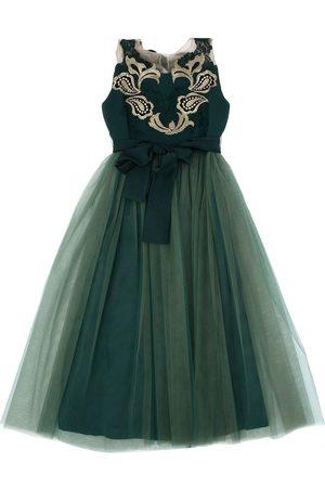 RHEA COSTA Kvinder Festkjoler - Tulle & Crepe De Chine Party Dress