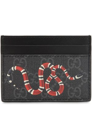Gucci Mænd Punge - Snake Gg Supreme Card Holder