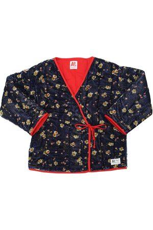 American Outfitters Piger Kimonos - Light Padded Velvet Kimono Jacket