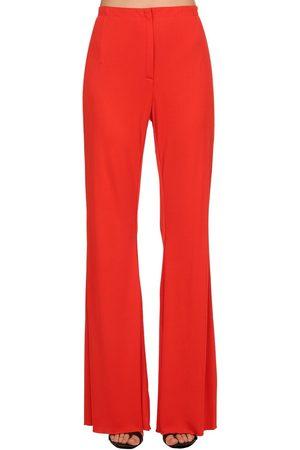 Marni Kvinder Kassebukser - Flared Crepe Jersey Pants
