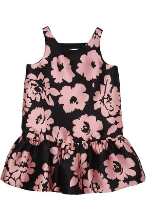 Milly Flowers Printed Twill Party Dress