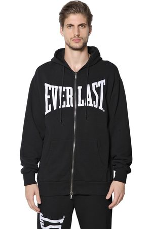 EVERLAST PORTS 1961 Zip Up Hooded Cotton Sweatshirt