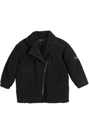 Finger in the Nose Faux Shearling Quilted Coat