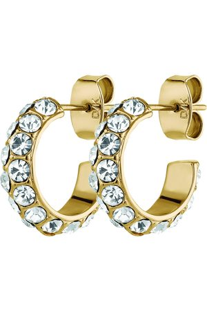 DYRBERG/ KERN Kvinder Øreringe - Heidi Sg Crystal Accessories Jewellery Earrings Hoops