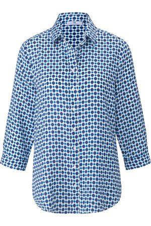 Peter Hahn Kvinder Langærmede - Skjorte Fra hvid