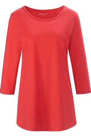 Green Cotton Kvinder Langærmede - Bluse 3/4-ærmer Fra pink