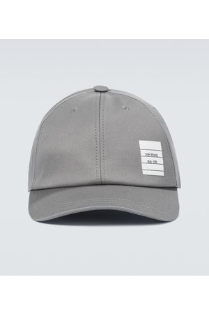Thom Browne Mænd Kasketter - Cotton twill baseball cap