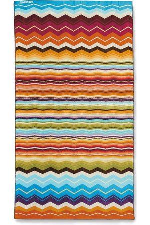 Missoni Kvinder Strandtøj - Hugo strandhåndklæde med chevron-mønster