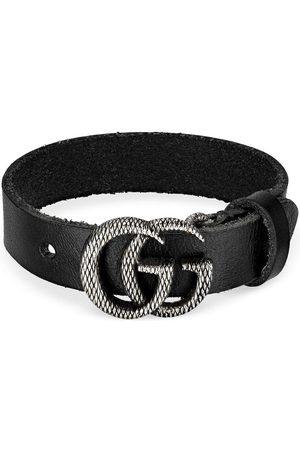 Gucci Mænd Armbånd - Armbånd med indgraveret GG-logo