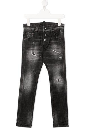 Dsquared2 Skinny-jeans med slitageeffekt