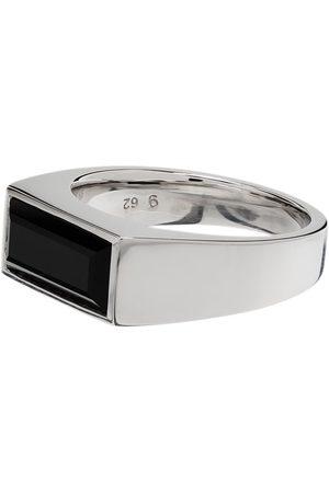 TOM WOOD Peaky 925 ring i sterlingsølv med onyx
