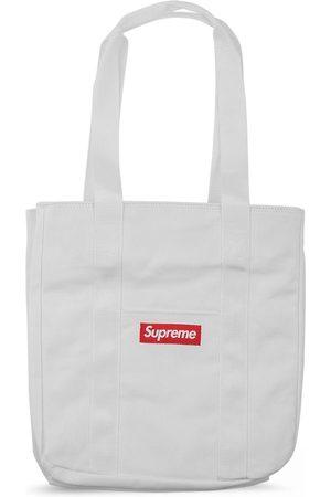 Supreme Logo canvas tote bag