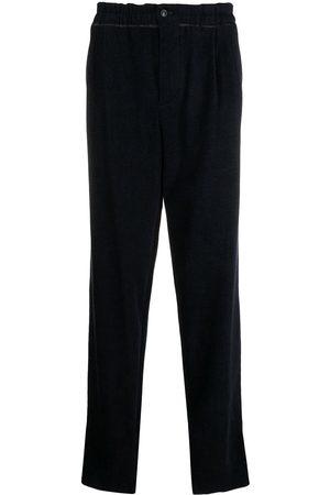 Armani Bukser med brede ben og paperbag-talje