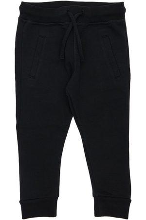 Dsquared2 Logo Print Cotton Sweatpants