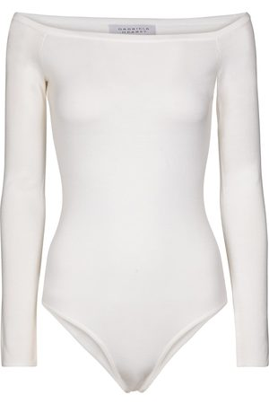 GABRIELA HEARST Kvinder Bodies - Klara wool and silk bodysuit