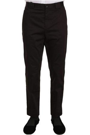 Dolce & Gabbana Cotton Stretch Formal Trouser Pants