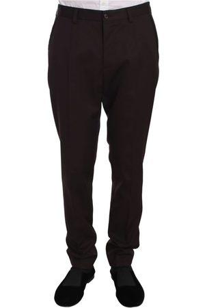 Dolce & Gabbana Cotton Dress Formal Trouser Pants