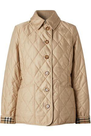 Burberry Kvinder Jakker - Fernleigh Quilted Short Jacket