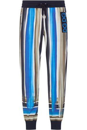 Dolce & Gabbana Mænd Joggingbukser - Stripe-pattern tapered track pants
