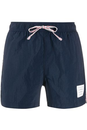 Thom Browne Drawstring waist swim shorts