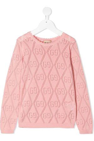 Gucci Kids GG cotton jumper