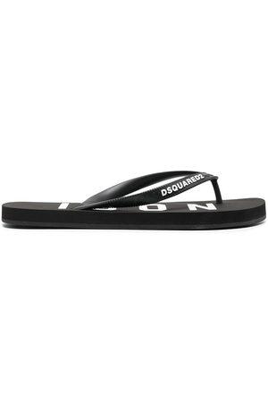 Dsquared2 Logo-strap flip flops
